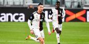 Cristiano Ronaldo spelar i Juventus, ett av de lag som drabbas. Marco Alpozzi / TT NYHETSBYRÅN
