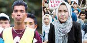 17-årige Mahmoud Alizade/Fatemeh Khavari på Ung i Sverige Privat/TT
