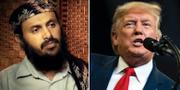 Qassim al-Rami/Donald Trump. TT