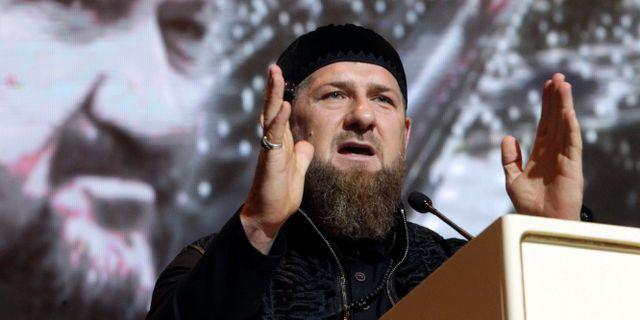 Ramzan Kadyrov. Musa Sadulayev / TT NYHETSBYRÅN