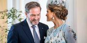 Chris O'Neill och prinsessan Madeleine. Christine Olsson/TT / TT NYHETSBYRÅN