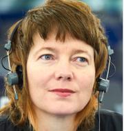 Malin Björk och Guy Verhofstadt. TT