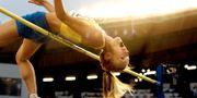 Kajsa Bergqvist på friidrotts-EM i Göteborg 2006.  NIKLAS LARSSON