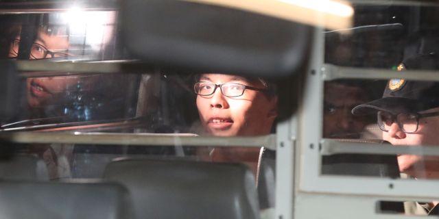 Joshua Wong. STRINGER / TT NYHETSBYRÅN
