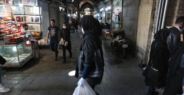 Teheran i Iran. Vahid Salemi / TT NYHETSBYRÅN