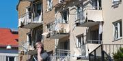 Dagen efter explosionen i Linköping i juni i år. Arkivbild. Jeppe Gustafsson/TT / TT NYHETSBYRÅN