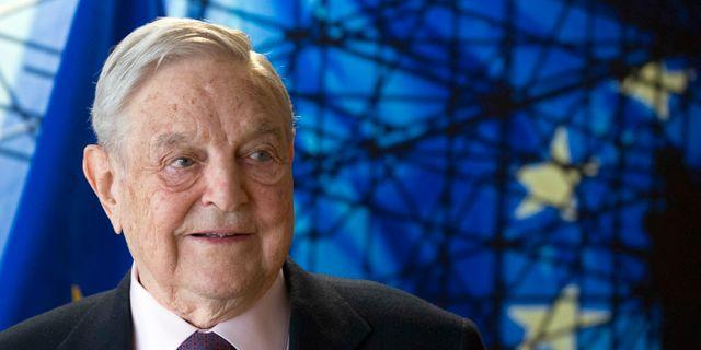 George Soros. Olivier Hoslet / TT NYHETSBYRÅN