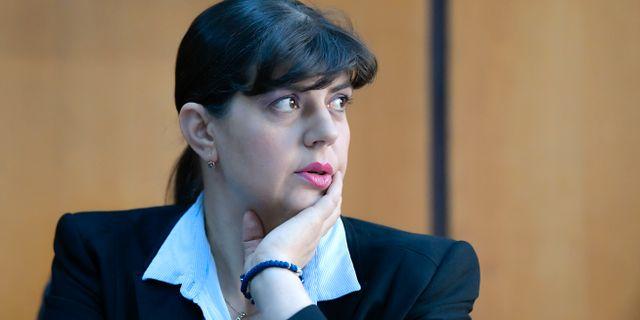 Laura Kovesi. Andreea Alexandru / TT NYHETSBYRÅN