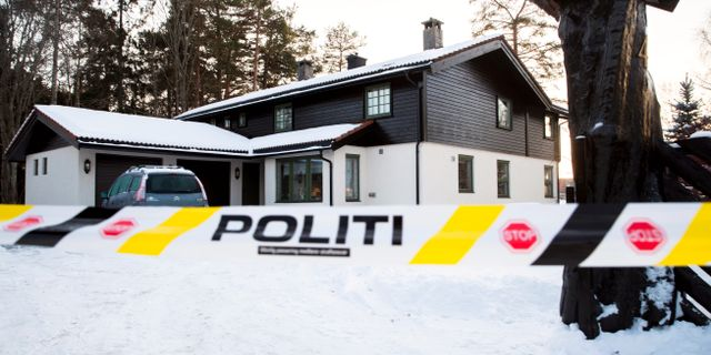 Huset som Anne-Elisabeth Falkevik Hagen försvann från Vidar Ruud / TT NYHETSBYRÅN/ NTB Scanpix