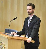 Arkivbild: Rasmus Ling (MP) Claudio Bresciani/TT / TT NYHETSBYRÅN