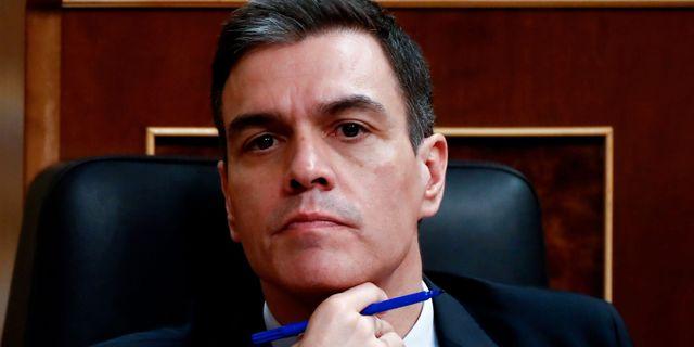 Pedro Sánchez. MARISCAL / TT NYHETSBYRÅN