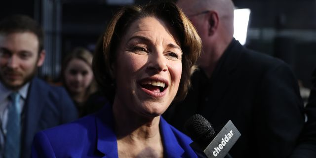 Amy Klobuchar JOE RAEDLE / GETTY IMAGES NORTH AMERICA