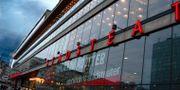 Fasaden på Kulturhuset med Stockholms Stadsteater. Hasse Holmberg/TT