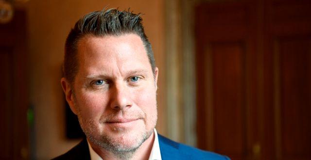 Embracergrundaren Lars Wingefors. Henrik Montgomery/TT / TT NYHETSBYRÅN