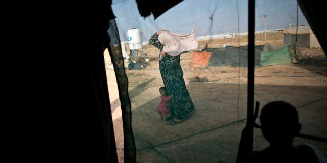 Arkivbild. Flyktingar i Syrien.  Muhammed Muheisen / TT NYHETSBYRÅN