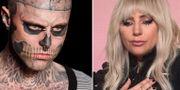 Zombie Boy och Lady Gaga.  TT.