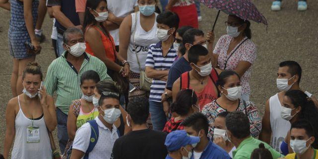Tva rebeller dodade i strid i colombia