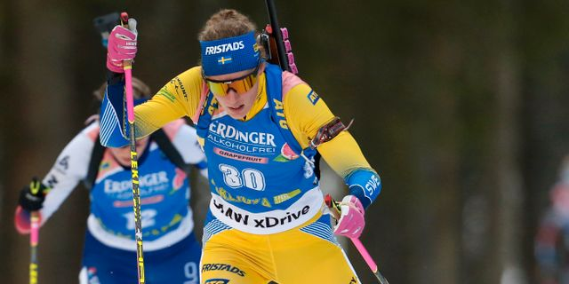 Hanna Öberg.  Darko Bandic / TT NYHETSBYRÅN