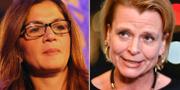 Gulan Avci och Åsa Regnér.  Wikipedia / TT