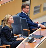 Ebba Busch (KD), Ulf Kristersson (M) Jessica Gow/TT / TT NYHETSBYRÅN