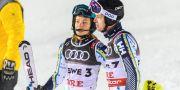 Anna Swenn Larsson och André Myhrer.  JOEL MARKLUND / BILDBYR N