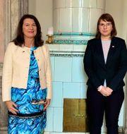 Ann Linde och Olga Kovalkova. Twitter