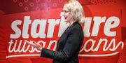 Socialdemokraternas toppnamn Heléne Fritzon.  Tomas Oneborg/SvD/TT / TT NYHETSBYRÅN