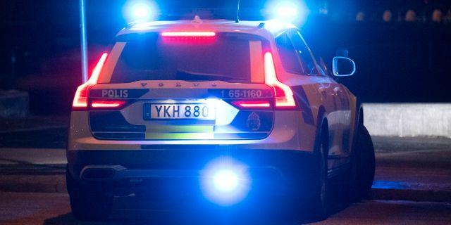 Arkivbild, polisbil. Johan Nilsson/TT / TT NYHETSBYRÅN