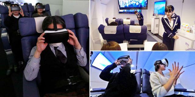 Med nya virtuella flygbolaget First Airlines kan du åka till andra sidan jorden på bara två timmar – utan att ens lämna marken. Reuters / First Airlines