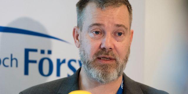 Thomas Hvitfeldt. Arkivbild från 2018.  Henrik Montgomery/TT / TT NYHETSBYRÅN