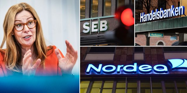 Arkivbilder: Swedbanks vd Birgitte Bonnesen. TT