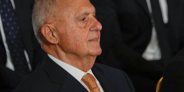 Italiens EU-minister Paolo Savona. Gregorio Borgia / TT / NTB Scanpix