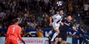 Zlatan, LA Galaxy, i match mot Los Angeles FC.  KELVIN KUO / BILDBYRÅN