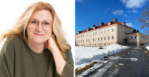 Annika Sundbom Åströms mål är att skapa ett sjukhus där hon själv skulle vilja få vård. Foto: Privata bilder