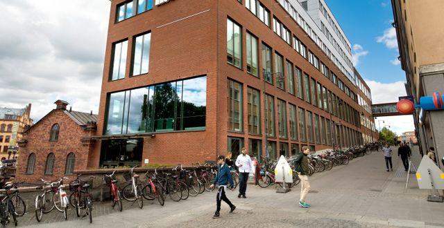 Campus Norrköping som tillhör Linköpings universitet.  Claudio Bresciani/TT / TT NYHETSBYRÅN