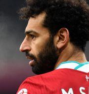 Mohamed Salah. Peter Powell / TT NYHETSBYRÅN