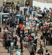Denver International Airport, 24 augusti 2021 David Zalubowski / TT NYHETSBYRÅN