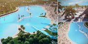 Nu planeras Europas största konstgjorda strand och den kommer ligga 45 minuter utanför Spaniens huvudstad Madrid. Grupo Rayet