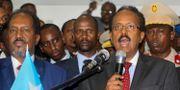 Somalias president Mohamed Abdullahi Farmajo. Farah Abdi Warsameh / TT NYHETSBYRÅN