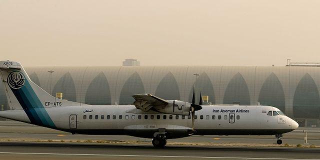 Vrakdelar hittade efter iransk flygkrasch
