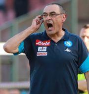 Maurizio Sarri har tränat många italienska klubbar.  INSIDEFOTO / BILDBYR N