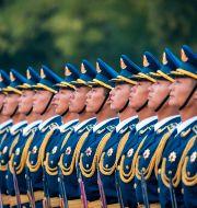 Hedersvakt i Beijing. Arkivbild.  Junge, Heiko / TT NYHETSBYRÅN