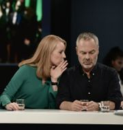 Ebba Busch Thor (KD), Ulf Kristersson (M), Jan Björklund (L) och Annie Lööf (C). Arkivbild. Stina Stjernkvist/TT / TT NYHETSBYRÅN