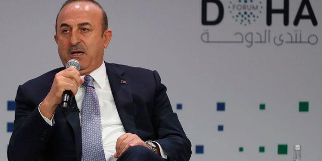 Turkiets utrikesminister Mevlut Cavusoglu KARIM JAAFAR / AFP
