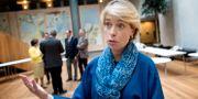 Socialminister Annika Strandhäll är ordförande för pensionsgruppen.  Jessica Gow/TT / TT NYHETSBYRÅN