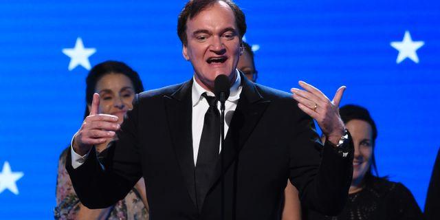 Quentin Tarantino vid måndagens gala Chris Pizzello / TT NYHETSBYRÅN
