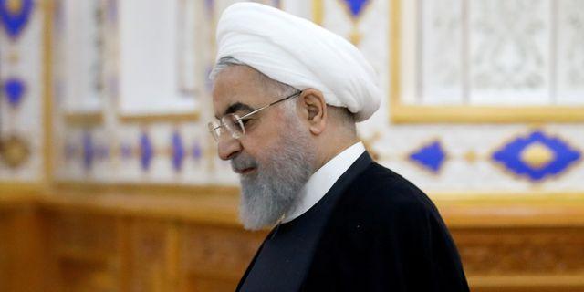 Irans president Hassan Rouhani. Mukhtar Kholdorbekov / TT NYHETSBYRÅN