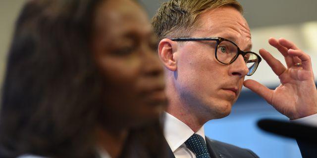 Mats Persson och Nyamko Sabuni Henrik Montgomery/TT / TT NYHETSBYRÅN
