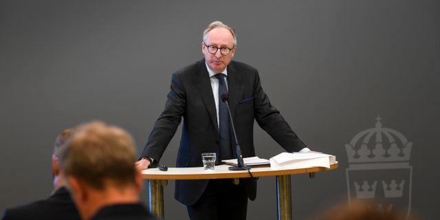 Utredaren Gudmund Toije. Fredrik Sandberg/TT / TT NYHETSBYRÅN