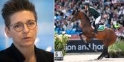 Ann-Sofie Hermansson/EM-tävlingarna i Göteborg förra sommaren. TT